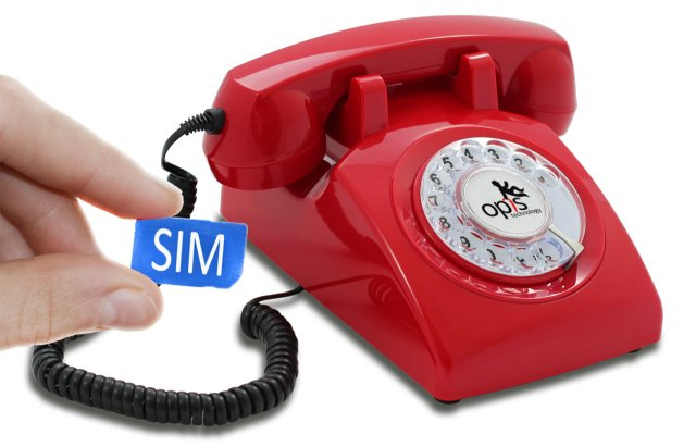 Opis 60s mobile (rouge)