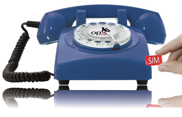 Opis 60s mobile (blue)