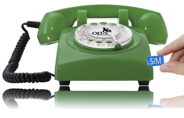 60s Mobile Frontal Green