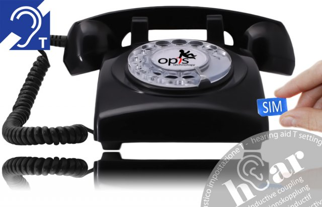 Opis 60s mobile hEar (schwarz)