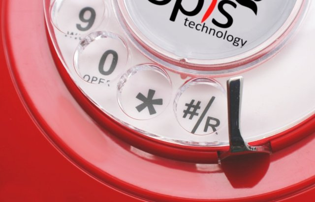 60s Mobile Rotrary Dial Red1