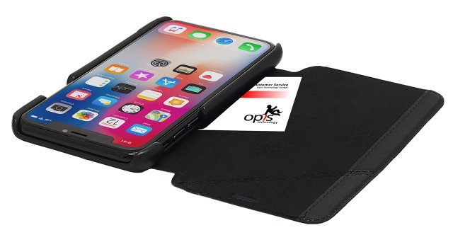 Opis mobile X garde book (black 1)