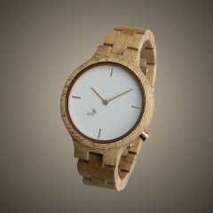 Opis UR-F1 (White Maple) Wooden Wrist Watch for Women