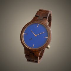 Opis UR-F1 (Red Sandalwood) Wooden Wrist Watch for Women
