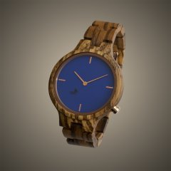 Opis UR-F1 (Zebra Wood) Wooden Wrist Watch for Women