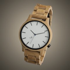 Opis UR-M1 (White Maple) Wooden Wrist Watch for Men