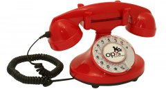 Opis 60s FunkyFon (red)