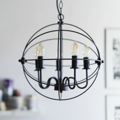 Opis PL1 Industrial Pendant Lamp made of Metal